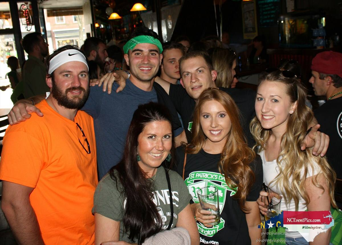 St. Patrick's Crawl in Wilmington NC 2019