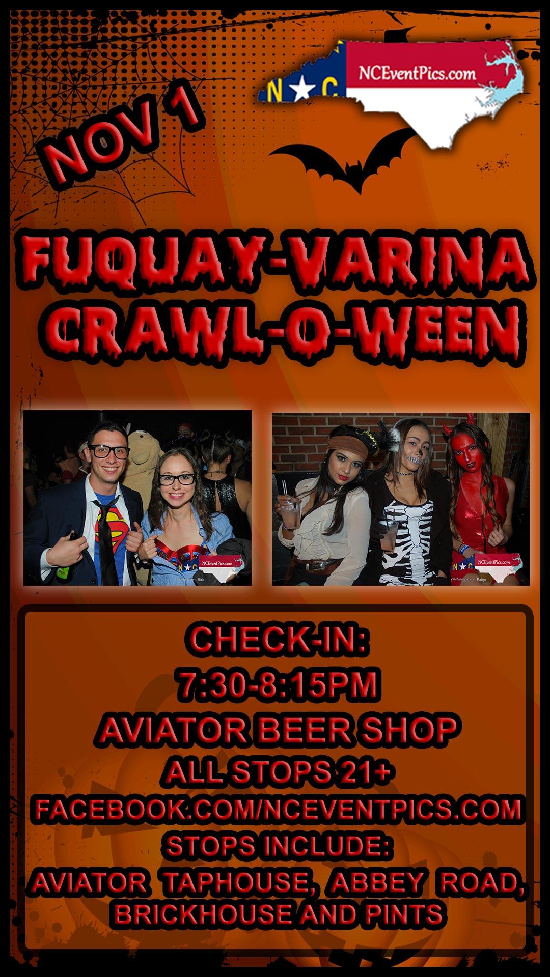 Fuquay Varina Crawl-O-Ween
